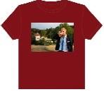 Potisk triček - obdélníkové tvary